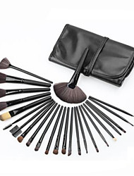 cheap -Professional Makeup Brushes Make Up 24pcs Full Coverage Wooden / Bamboo for