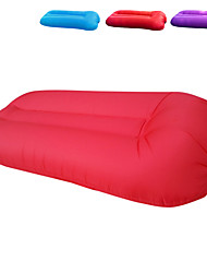 cheap -Air Sofa Inflatable Sofa Sleep lounger Inflatable Pool Floats Outdoor Waterproof Portable Fast Inflatable Ultra Light (UL) Polyester Taffeta 21*90*50 cm Beach Camping Outdoor All Seasons Purple Red