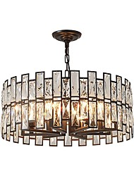 cheap -QIHengZhaoMing 8-Light Chandelier Ambient Light Electroplated Metal 110-120V / 220-240V Warm White Bulb Included