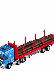 Недорогие -1:50 Игрушечные машинки Транспортер грузовик Экскаваторная погрузочная машина Форвардер Новый дизайн Металлический сплав