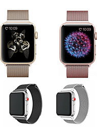 abordables -Bracelet de Montre  pour Apple Watch Series 5/4/3/2/1 Apple Bracelet Milanais Acier Inoxydable Sangle de Poignet