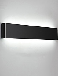 cheap -Eye Protection LED / Modern / Contemporary Wall Lamps & Sconces / Bathroom Lighting Living Room / Bedroom Metal Wall Light IP20 AC100-240V 24 W