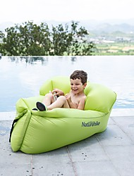 cheap -Naturehike Air Sofa Inflatable Sofa Sleep lounger Outdoor Portable Lightweight Mini Promotes Good Mood TPR Beach Camping Spring &  Fall Spring Green White Orange