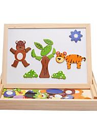 Недорогие -Игрушка для обучения чтению внедорожник Буквы Новый дизайн деревянный Дети Детские Все Мальчики Девочки Игрушки Подарок 1 pcs