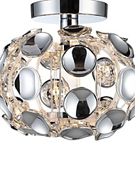 cheap -CXYlight Globe Flush Mount Downlight Electroplated Metal Acrylic Mini Style 110-120V / 220-240V Bulb Not Included