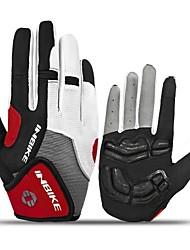 cheap -INBIKE Winter Bike Gloves / Cycling Gloves Mountain Bike Gloves Mountain Bike MTB Thermal / Warm Breathable Anti-Slip Sweat-wicking Full Finger Gloves Sports Gloves Mesh Silicone Gel Terry Cloth