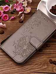 cheap -Case For Huawei Huawei P smart / Huawei Honor 10 / Honor 9 Wallet / Card Holder / with Stand Full Body Cases Dandelion Hard PU Leather