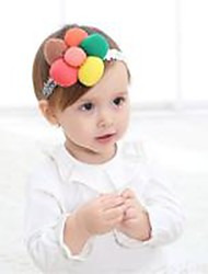 cheap -Toddler Girls' Patchwork Hair Accessories Rainbow One-Size / Headbands / Clips & Claws