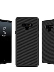 cheap -Nillkin Case For Samsung Galaxy Note 9 / Note 8 Embossed Back Cover Lines / Waves Hard Carbon Fiber for Note 9 / Note 8