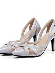 cheap -Women's Heels Stiletto Heel Suede Basic Pump Summer Gray / Purple / Light Blue / Daily