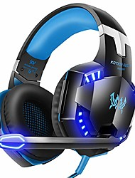 cheap -Kotion Each G2000 7.1 Surround Sound Stereo Gaming Headset Esports Headphone LED Lights & Soft Memory Earmuffs Works with Xbox One, PS4, Nintendo Switch, PC Mac Computer Gaming