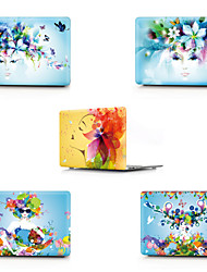 cheap -MacBook Case Sexy Lady / Flower PVC(PolyVinyl Chloride) for New MacBook Pro 13-inch / MacBook Air 13-inch / MacBook 12''