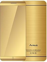 Недорогие -anica a7 телефон с супер мини-ультратонкой картой люкс bluetooth 1,63-дюймовый пылезащитный ударопрочный телефон