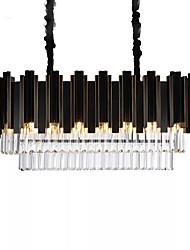 cheap -8-Light 80 cm Chandelier Metal Painted Finishes Modern 110-120V 220-240V