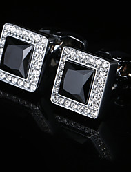 cheap -Cufflinks Classic Basic Brooch Jewelry Silver For Party Gift