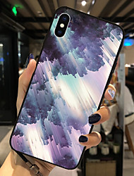 cheap -Case For Apple iPhone XS / iPhone XR / iPhone XS Max Pattern Back Cover Scenery Soft TPU