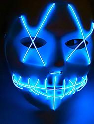 Недорогие -Праздничные украшения Украшения для Хэллоуина Маски на Хэллоуин Декоративная / Cool Синий 1шт