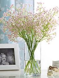 Недорогие -Искусственные Цветы 1 Филиал Классический Односпальный комплект (Ш 150 x Д 200 см) Стиль Пастораль Стиль Гортензии Перекати-поле Букеты на стол