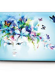 "cheap -MacBook Case Flower PVC(PolyVinyl Chloride) for Macbook Pro 13-inch / MacBook Pro 15-inch with Retina display / New MacBook Air 13"" 2018"