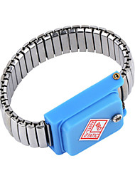 cheap -Wristband Strap ESD Discharge Static Wrist Band Of Stainless Steel Metal Working Tools Electrician IC PLCC