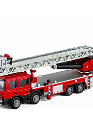cheap -1:50 Toy Car Fire Engine Fire Engine Vehicle Metal Alloy Mini Car Vehicles Toys for Party Favor or Kids Birthday Gift 1 pcs