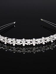 cheap -Crystal / Alloy Headdress / Headpiece / Hair Accessory with Crystal / Crystals 1 Piece Wedding / Birthday Headpiece