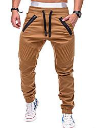abordables -Homme Pantalons de Jogging Pantalons de Course Running Pantalon de survêtement Pantalon de sport Pied de faisceau Cordon Des sports Hiver Pantalons / Surpantalons Joggings Bas Course / Running Sport