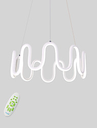 cheap -CONTRACTED LED Novelty Chandelier Ambient Light Painted Finishes Aluminum Aluminum Adjustable, Dimmable, New Design 110-120V / 220-240V Warm White / Cold White / Dimmable With Remote Control LED