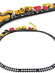 Недорогие -Игрушечные поезда и наборы Поезд Шлейф Мерцание / утонченный / Взаимодействие родителей и детей Пластиковые & Металл / Полипропилен + ABS Все Дети Подарок 1 pcs