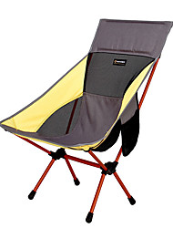cheap -BEAR SYMBOL Camping Chair Portable Rain Waterproof Anti-Slip Ultra Light (UL) Oxford Cloth 7075 Aluminium Mesh for 1 person Fishing Hiking Camping Autumn / Fall Spring Yellow / Foldable