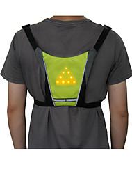Недорогие -Светодиодная лампа Велосипедные фары огни безопасности Светоотражающий жилет LED Горные велосипеды Велоспорт Велоспорт Водонепроницаемый Несколько режимов Творчество Регулируется