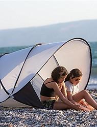 cheap -2 person Beach Tent Outdoor Lightweight Rain Waterproof Wearable Camping Tent <1000 mm for Beach Terylene 130*130*105 cm