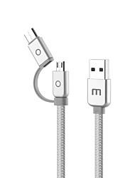 Недорогие -MEIZU USB 2.0 Тип C к USB 2.0 Male - Female 1.0m (3FT) PVC