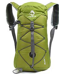 Недорогие -32 L Рюкзаки Легкий упаковываемый рюкзак Легкость Дышащий Дожденепроницаемый Быстровысыхающий На открытом воздухе Отдых и Туризм Восхождение Походы Нейлон Зеленый Синий Фиолетовый / Компактный