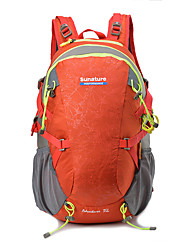 cheap -50 L Rucksack Breathable Rain Waterproof Wear Resistance Outdoor Hiking Cycling / Bike Camping Nylon Purple Green Blue / Yes