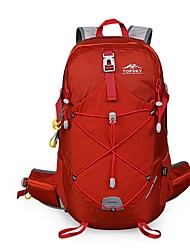 cheap -TOPSKY 28 L Hiking Backpack Stretchy Wear Resistance Outdoor Cycling / Bike Camping Travel Nylon Red Blue