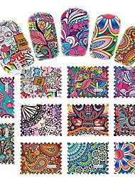 cheap -44 pcs 3D Nail Stickers Creative nail art Manicure Pedicure Multi Function Trendy / Fashion Daily