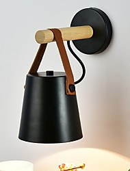 Недорогие -Модерн Настенные светильники Гостиная Дерево / бамбук настенный светильник 220-240Вольт 40 W