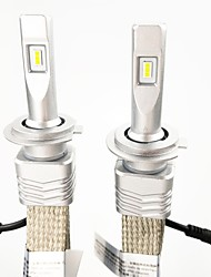 cheap -2PCS Car Headlight Bulbs 9006(HB4), 9005(HB3), H11, H7, H9, H10, H845W 6000LM Waterproof Headlights Conversion Kit with ZES Chip Headlight Kit 6000K White Color Lightness