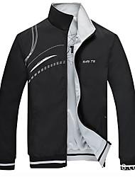 cheap -Men's Stand Collar Jacket Regular Contemporary Daily Long Sleeve Black Blue Red L XL XXL