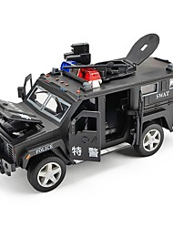 cheap -Toy Car Vehicles Car Police car City View Cool Exquisite Metal Alloy All Boys' Girls' 1 pcs