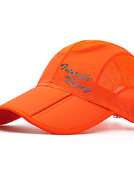 cheap -Jungle King Hiking Cap Cap Sunscreen UV Resistant Breathable Quick Dry Nylon Spring, Fall, Winter, Summer for Men's Women's Climbing Outdoor Exercise Fuchsia Orange Green