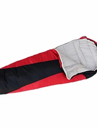 cheap -Sleeping Bag Outdoor Camping Mummy Bag 15 °C Microfiber Breathable Ultra Light (UL) Sweat-wicking Softness Spring &  Fall Autumn / Fall for Camping / Hiking / Caving Traveling