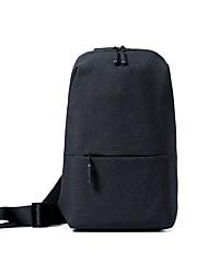 cheap -Xiaomi 4 L Hiking Sling Backpack Multifunctional Lightweight Rain Waterproof Outdoor Hiking Camping Bike / Bicycle Polyester Dark Grey Grey
