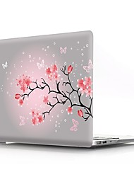 cheap -MacBook Case Flower Plastic for Macbook Pro 13-inch / Macbook Air 11-inch / MacBook Pro 13-inch with Retina display