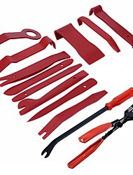 cheap -ZIQIAO 13Pcs Trim Removal Tool Car Panel Door Audio Trim Removal Tool Kit Auto Clip Pliers Fastener Remover Pry Tool Set