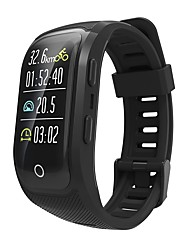 cheap -Indear S908PLUS Men Smart Bracelet Smartwatch Android iOS Bluetooth GPS Sports Waterproof Heart Rate Monitor Touch Screen Pedometer Call Reminder Activity Tracker Sleep Tracker Sedentary Reminder