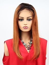 cheap -Remy Human Hair Lace Front Wig Asymmetrical Wendy style Brazilian Hair Straight Wig 130% 150% Density with Baby Hair Women Easy dressing Sexy Lady Natural Women's Very Long Human Hair Lace Wig PERFE