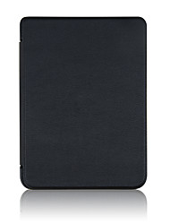 cheap -Case For BLU kobo clara HD Shockproof / Auto Sleep / Wake Up Full Body Cases Solid Colored Hard PU Leather