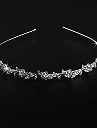 cheap -Alloy Head Chain with Crystal / Rhinestone 1 Piece Wedding / Special Occasion Headpiece